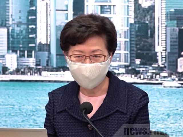 """林郑月娥:除非是应用""""核方式"""",不然都能够应对!"""