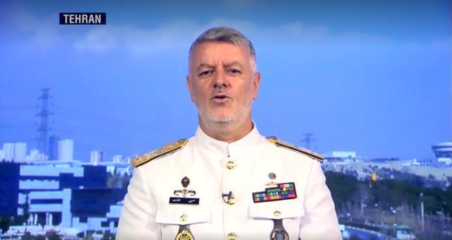 美国航空母舰攻击该组织进入波斯湾,伊朗海军指挥官警告说,如果有必要,它将瞄准