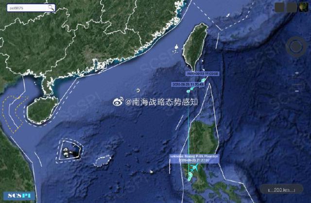 美国侦察机结束对南海的侦察后,被怀疑在菲律宾空军基地着陆