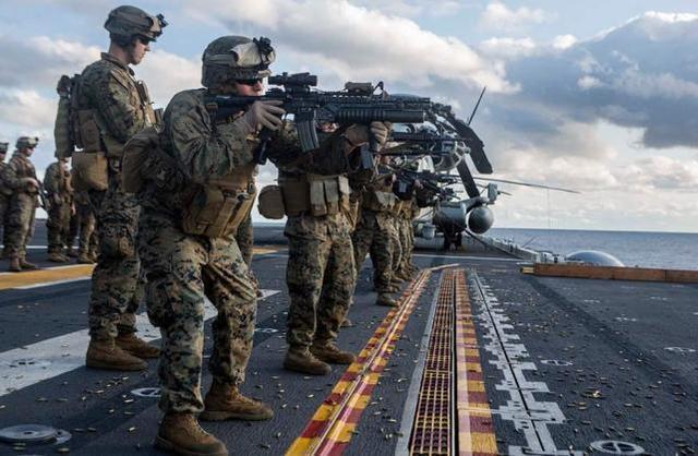 """为了给中国找麻烦,美国海军陆战队将花三年时间测试""""渤海集团""""的实力"""