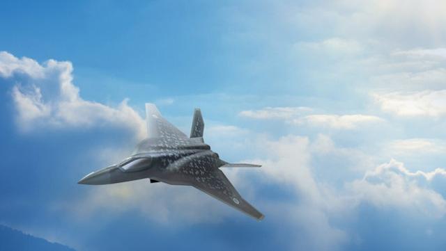 """日本已经确定,下一代隐身战机将继续""""三菱制造"""",首架下线预计要等10年"""