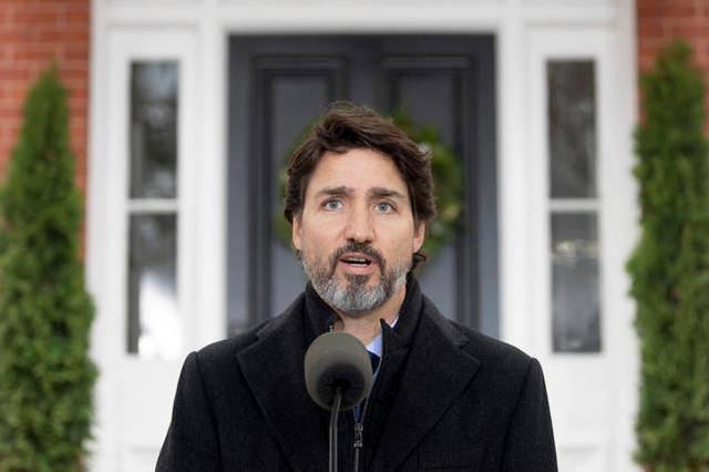 特鲁多:加拿大人不能期待第一个新冠肺炎疫苗。