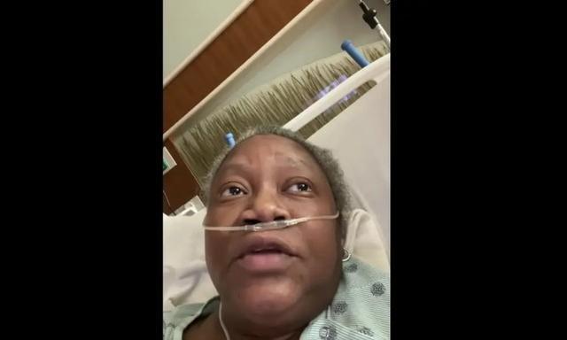 """""""黑人就这样被杀了。""""非裔美国医生说,他们在新冠肺炎去世前受到虐待。"""