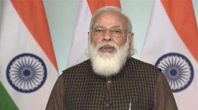 莫迪发表了新年致辞:新的一年给印度带来了很多变化。