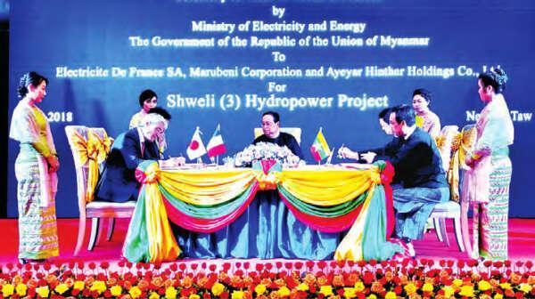 许多国家和地区的企业暂停了缅甸的大型项目。